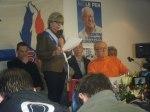 Mireille d'ORNANO, Secrétaire départemental, ouvre le meeting
