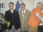Norman MECHIN au côté de Robert ARLAUD, candidat à Bourgoin-Jallieu